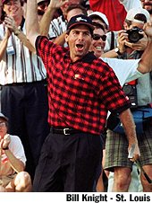 fred couples  celebrating