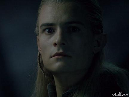 Legolas in moonlight