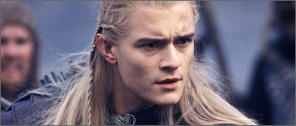 Legolas at Helm's Deep